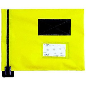 Image of A4 Flat Mailing Pouch / 285mm x 345mm / Yellow