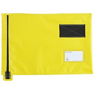 Image of A3 Flat Mailing Pouch / 355mm x 470mm / Yellow