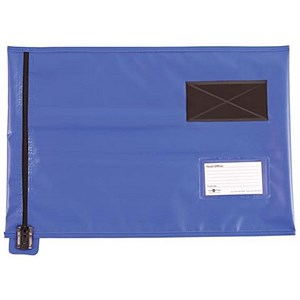 Image of A3 Flat Mailing Pouch / 355mm x 470mm / Blue