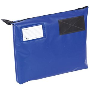 Image of A4+ Mailing Pouch with Gusset / 381 x 336 x 76mm / Blue