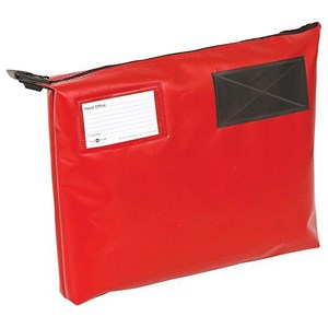 Image of A4+ Mailing Pouch with Gusset / 381 x 336 x 76mm / Red