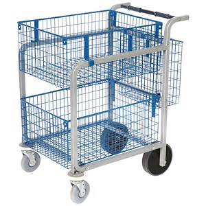 Image of Heavy Duty Mail Trolley
