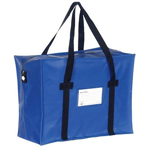 Image of Blue Courier Holdall