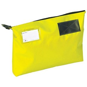 Image of A3 Mailing Pouch with Gusset / 470 x 336 x 76mm / Yellow
