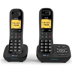 Image of BT 1700 Dect Telephone - Twin