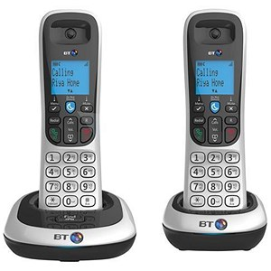 Image of BT 2200 Dect Telephone - Twin