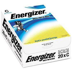 Image of Energizer Eco Advanced Batteries / C/E93 / Pack of 20