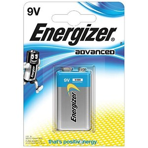 Image of Energizer Eco Advanced Batteries - 9V/522