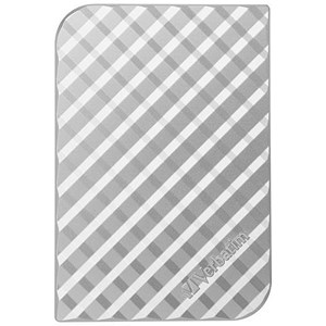 Image of Verbatim Portable Hard Drive / 500GB / Silver
