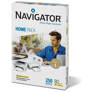 Image of Navigator Homepack A4 Paper / 80gsm / 250 Sheets