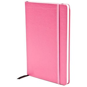 Image of Silvine SoftFeel Executive Notebook / A5 / Pink