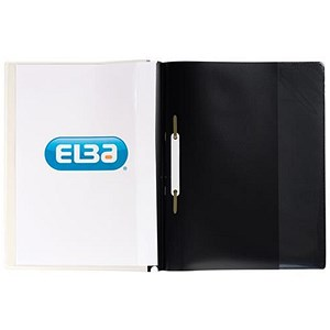 Image of Elba A4+ Report File / Capacity: 160 Sheets / Black / Pack of 25