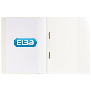 Image of Elba A4+ Report File / Capacity: 160 Sheets / White / Pack of 25