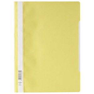 Image of Elba A4 Report File / Capacity: 160 Sheets / Yellow / Pack of 50