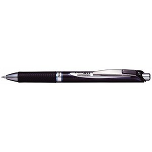 Image of Pentel EnerGel Xm Rollerball / Permanent / 0.7mm Tip / 0.35mm Line / Retractable / Blue / Pack of 12