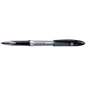 Image of Uniball AIR UBA-188L Rollerball Pens / Black / Pack of 12