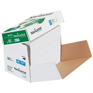 Image of Navigator Universal Paper / 80gsm / Fast Pack 2500 sheets