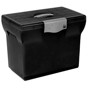 Image of Pierre Henry Plastic Box File / A4 / Black