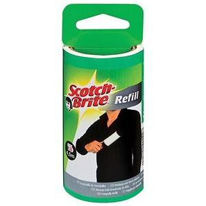 Image of Scotch-Brite Lint Roller Refill - 30 sheets