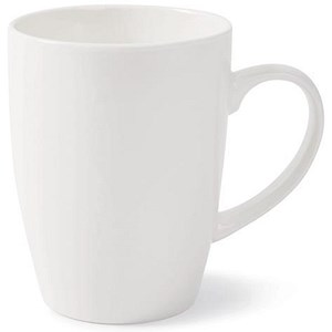 Image of Earthenware White Mugs - Pack of 12