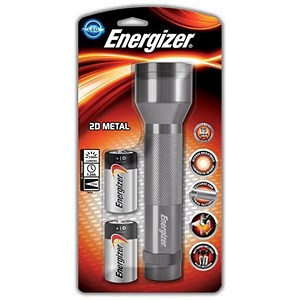 Image of Energizer Heavy-duty Aluminium Torch - 100 Lumens