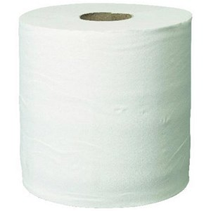 Image of Pristine Centrefeed Hand Towel Roll / 2-Ply / 150m / White / 6 Rolls