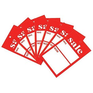 Image of Sale Tickets / 100x55mm / Pack of 100