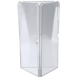Image of Triangular Menu Holder - 3-sided