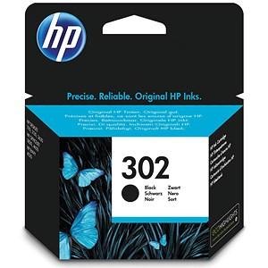 Image of HP 302 Black Inkjet Cartridge
