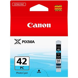 Image of Canon 42 Photo Cyan Ink Tank