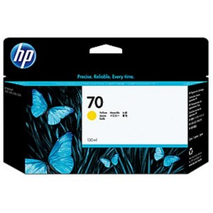 Image of HP 70 Yellow Ink Cartridge