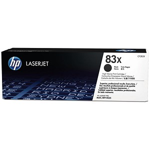 Image of HP 83X Black LaserJet Toner Cartridge