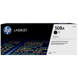 Image of HP 508A Black LaserJet Toner Cartridge