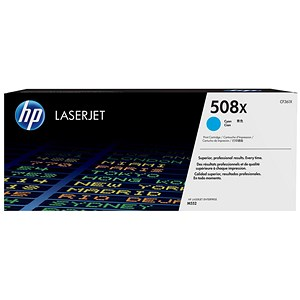 Image of HP 508X Cyan LaserJet Toner Cartridge