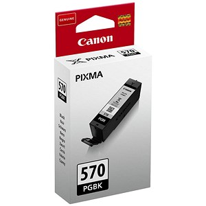 Image of Canon PGI-570 Black InkJet Cartridge