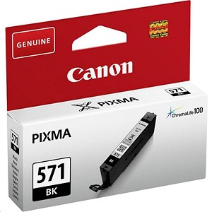 Image of Canon CLI-571 Black InkJet Cartridge