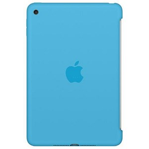 Image of Apple iPad Mini 4 Silicone Case - Blue