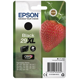 Image of Epson No. 29XL Black InkJet Cartridge