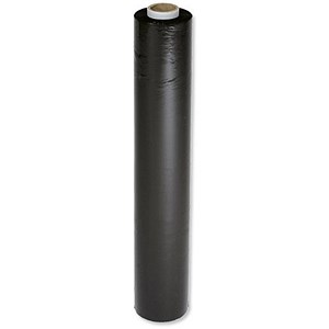 Image of Stretchwrap / 17 Micron / Black / Pack of 6