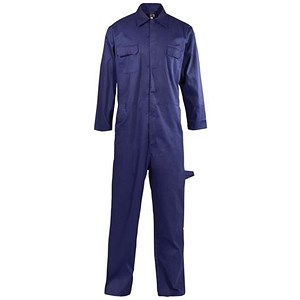 Image of Supertouch Basic Coverall / PolyCotton / Navy / Small