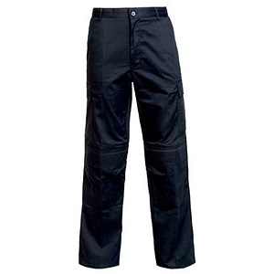 Image of Combat Trousers / Velcro Pockets / Waist: 34in, Leg: 31in / Black