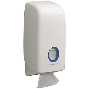 Image of Kimberly-Clark Aquarius Bulk Pack Toilet Tissue Dispenser
