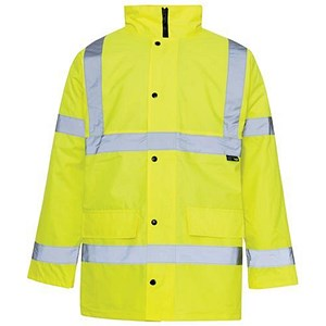 Image of High Visibility Standard Parka / Medium / Yellow