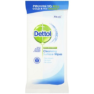 Image of Dettol Antibacterial Surface Cleaning Wipes Ref 3007228 [Pack 84]