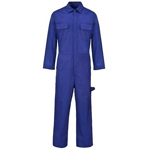 Image of Supertouch Basic Coverall / PolyCotton / Navy / Medium