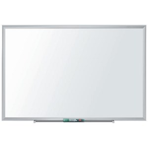 Image of Nobo Nano Clean Steel Whiteboard / Magnetic / W1500xH1000mm / White