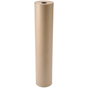 Image of Kraft Paper Packaging Roll / 70gsm / 900mmx300m / Brown