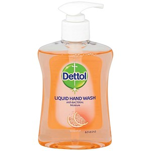 Image of Dettol Antibacterial Hand Soap / Moistening / Grapefruit / 250ml