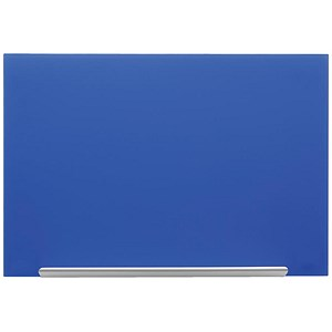Image of Nobo Diamond Glass Board / Magnetic / W1883xH1053mm / Blue