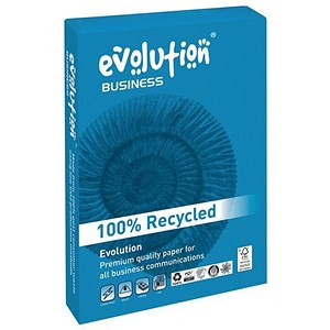 Image of Business Evolution A3 Recycled Paper / White / 100gsm / Ream (500 Sheets)